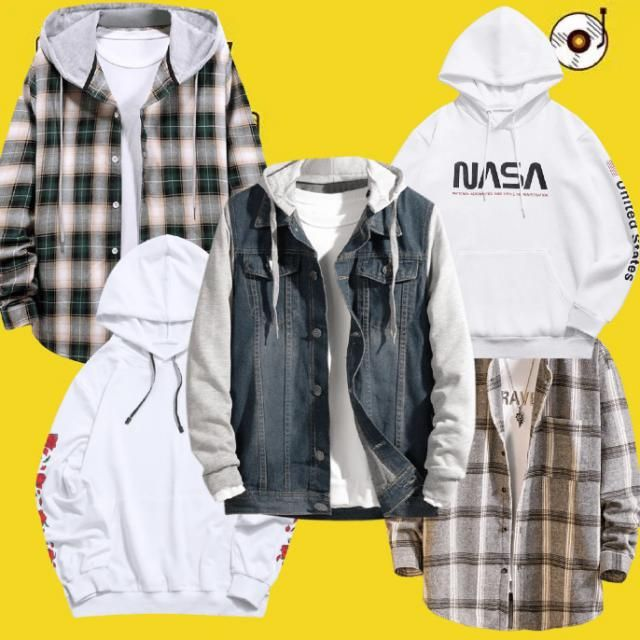 Men need to stay warm too! here's some comfy sweaters/jackets to stay cozy