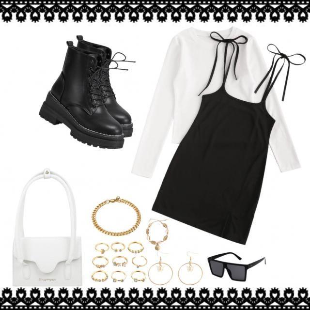 Este look es elegante y original 👉😘😘😘 ami me encanto dale like y sígueme ⚖️
