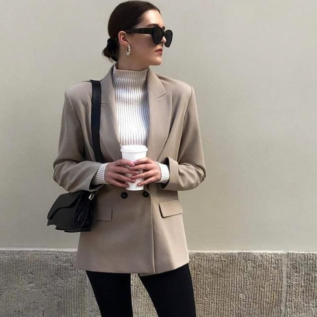 Yes! This is how you go to office outfits, yay or ayeee ?
