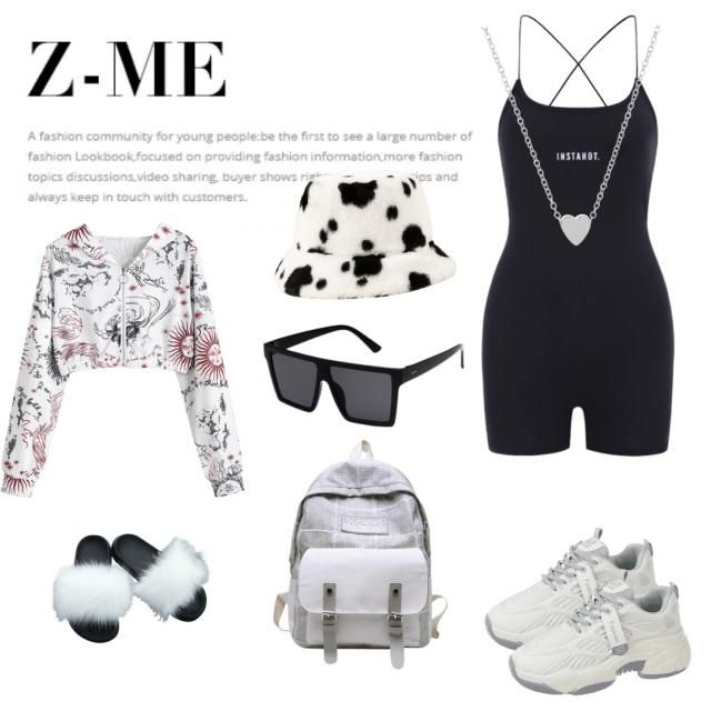 . I'd absolutely rock this fit going to class and feel comfortable and stylish. I love the romper. I'm pretty sure…