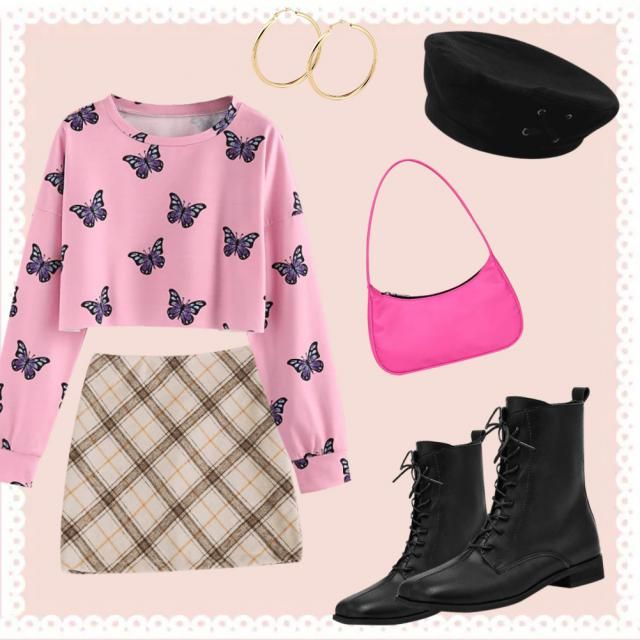 On Wednesday we wear pink! Mean girls inspired outfit !!
