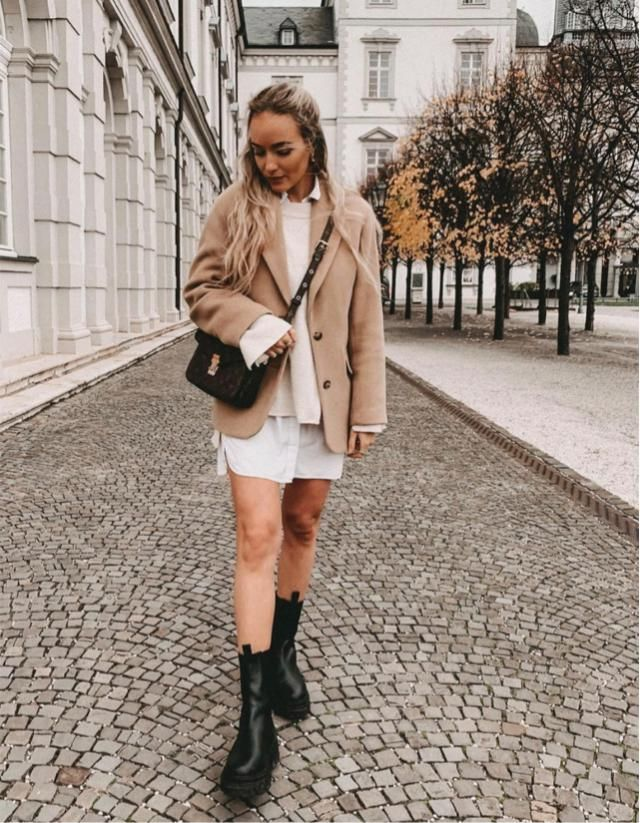 Walking on the street with this cute coat, what do you think?