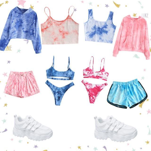 &Blue   &pink        &pink &blue