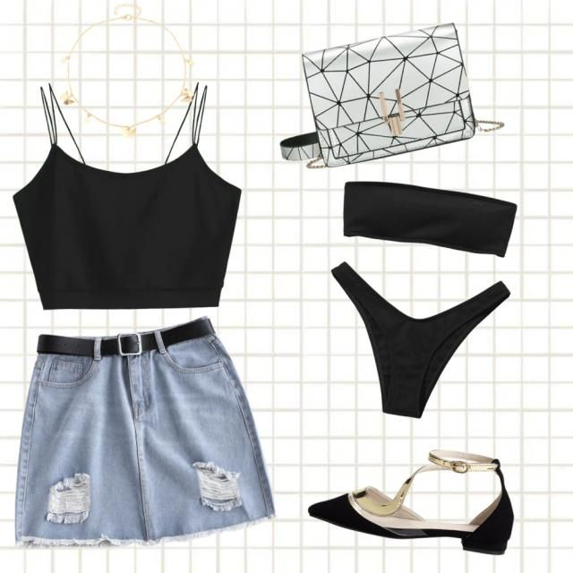A casual day at the movies going for a swim or having fun in the sun🌼🌼