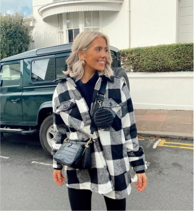 Plaid jacket is different and unique for every outfit