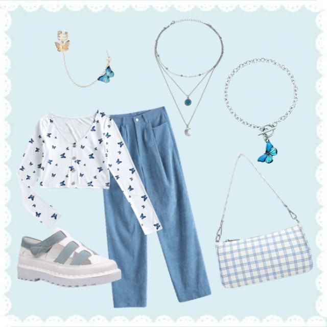 # Color outfits - BLUE (1) )          #