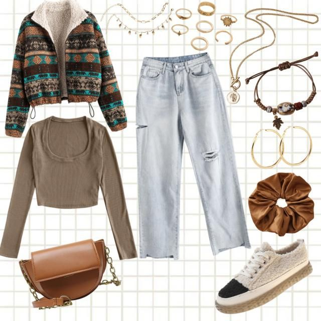 Outfit casual soft chic 🦋