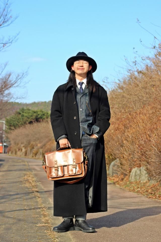 winter dandy mens look  insta: bb_stg