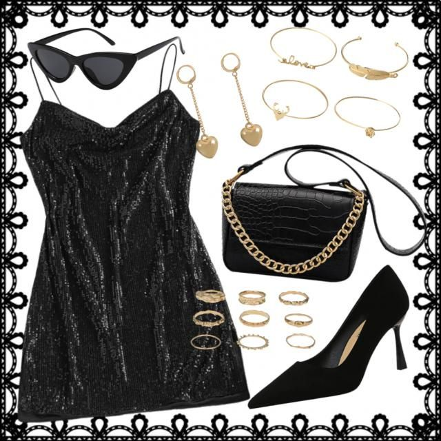 Outfit classy chic glamour 🖤✨