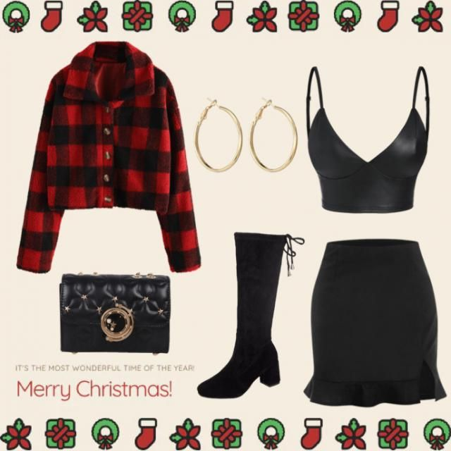 Festive outfit 🎄✨
