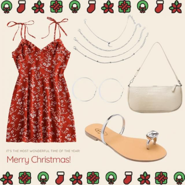 put this cute outfit together. Perfect for a hot summers day 🌻🌞🎅🏼