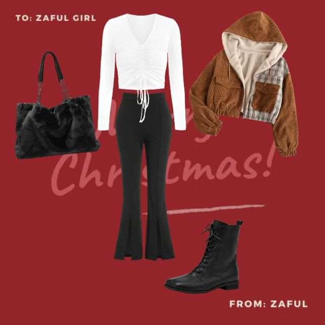 Cute cosy and warm outfit idea!
