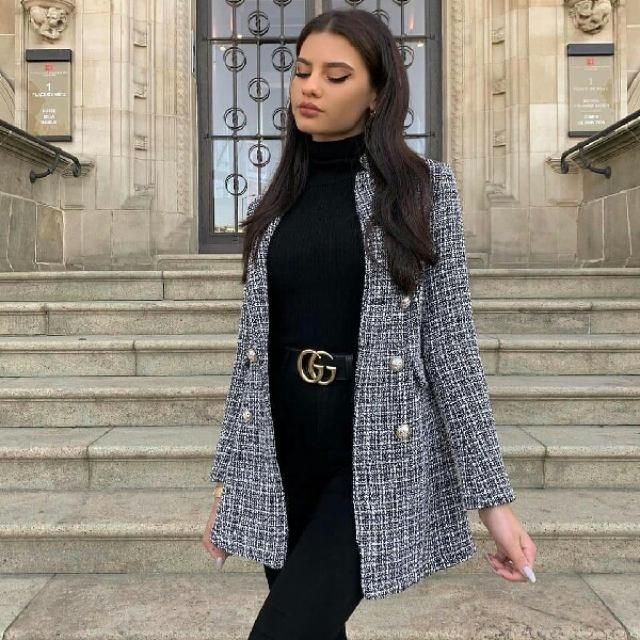 for an effortlessly casual style wear try this blazer