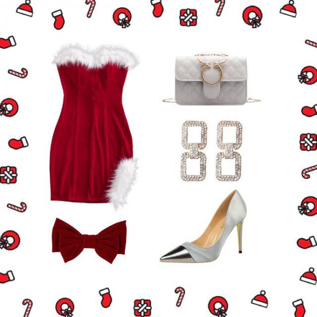 Some Christmas glam ✨🎄