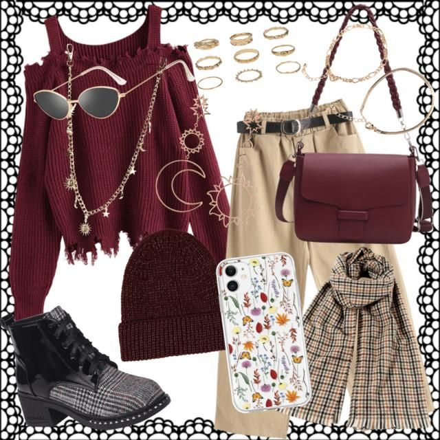 Outfit comfy chic🍁🍂❤
