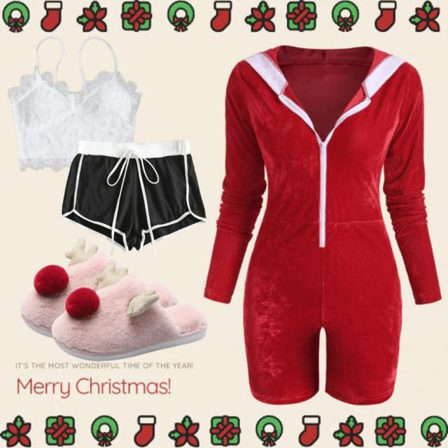 Start off a holiday movie night with your loved one in slippers and the one piece jumper then crawl under the covers in…