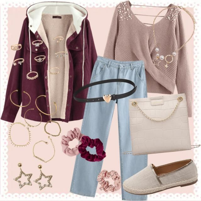 Outfit glam chic 🌹💞✨
