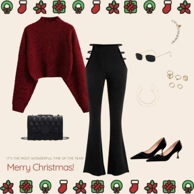 A chic Christmas look 🎄🎉