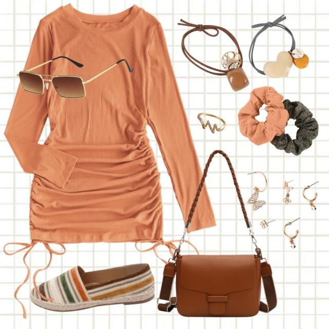 Outfit casual chic🍁🧡