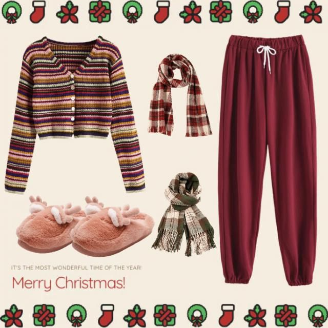 chill and cute Xmas outfit!✨😍