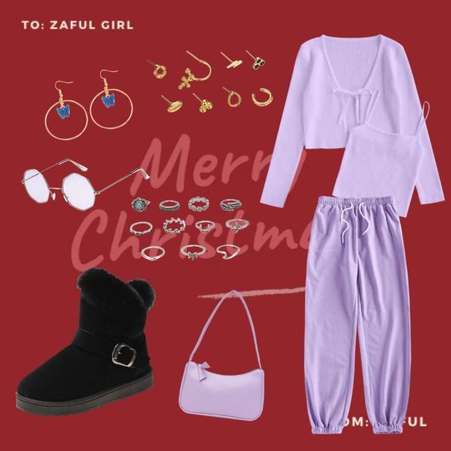purple fevered Christmas 😍😍