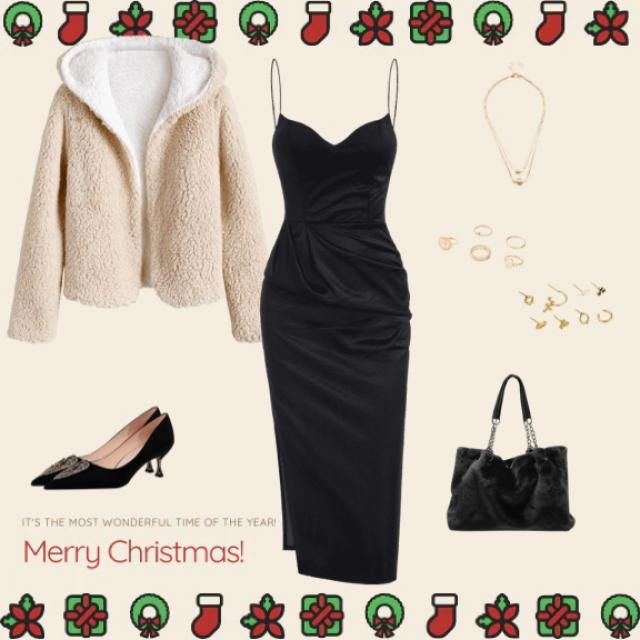 Boujee Christmas Vibes 😎🎄