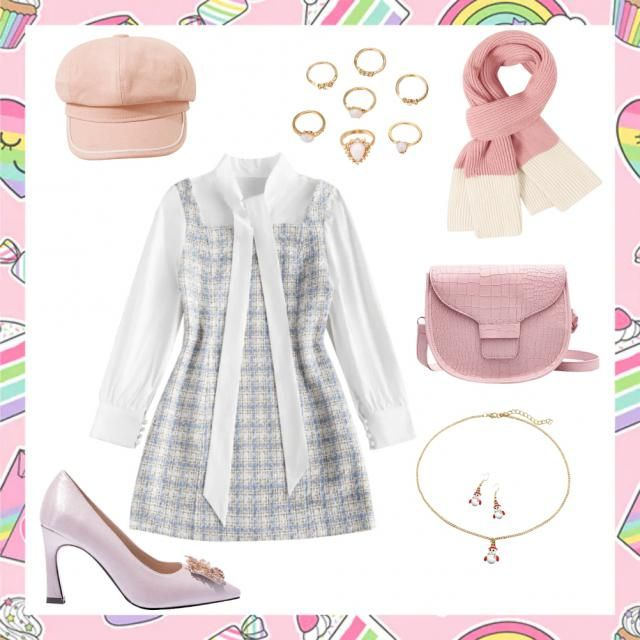 cute outfit idea for Christmas💗
