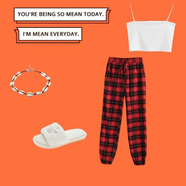 very chilled, stay at home outfit for a summer Christmas