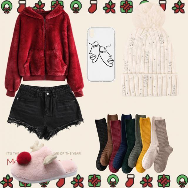 Cozy Christmas Eve 🧣🎄          #
