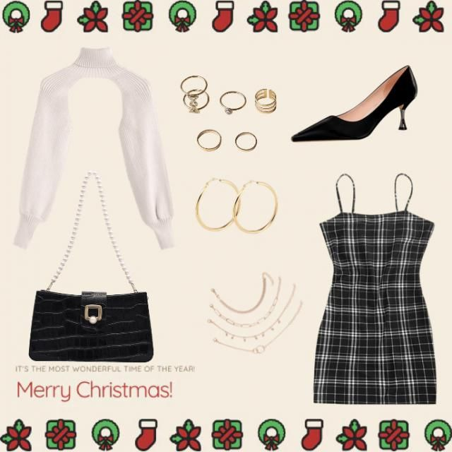 My mom helped me design this outfit! if you like it please leave a like! Happy holidays❤️