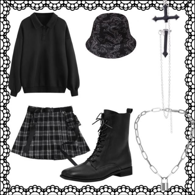 This is my every day oufit but with a twist because the cross represents Jesus