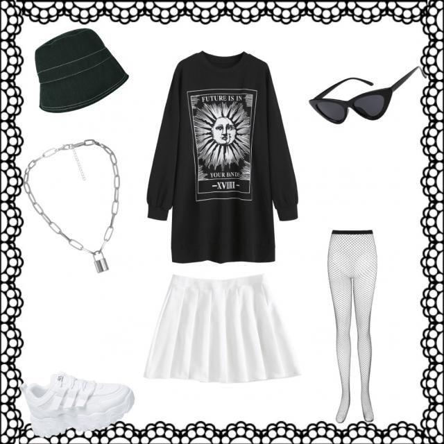 Grunge kawaii outfit 2