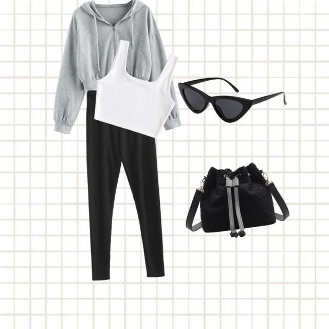 | just a simple outfit for when your going to school or work |