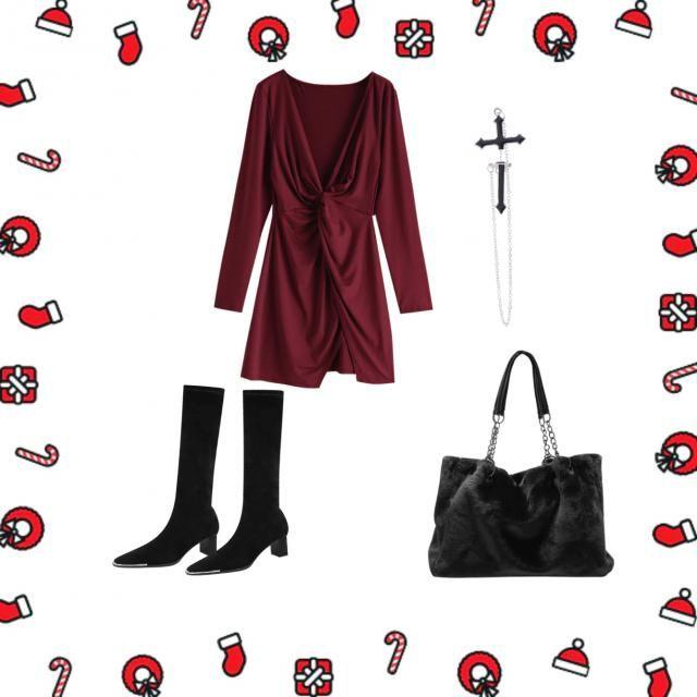 goth or christmas spirit?