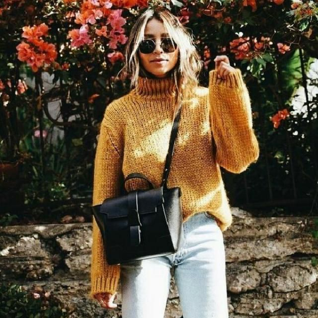 this yellow sweater is super cute