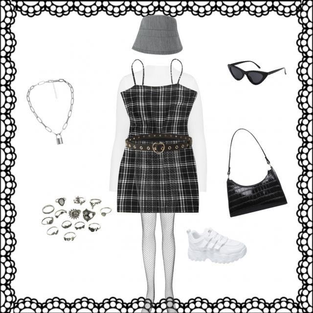 Grunge kawaii outfit 4. 🖤