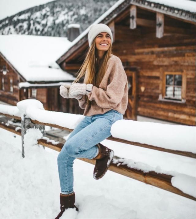 The happiness is finally here, I love snow, and winter