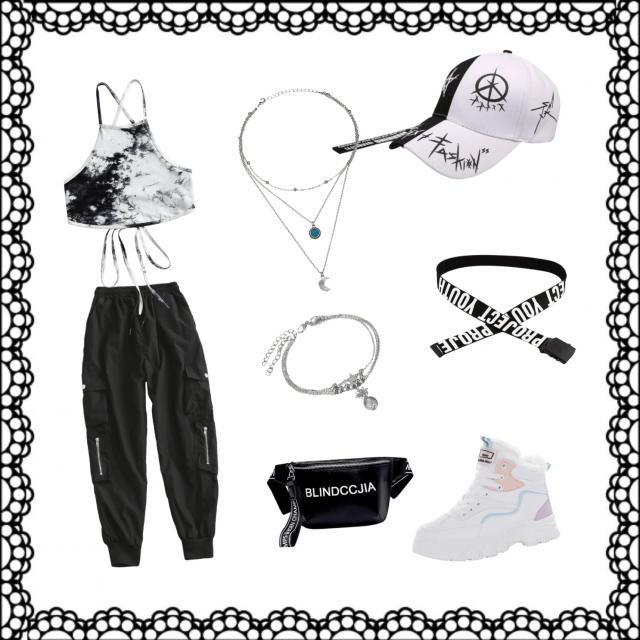 Black and white, Street style