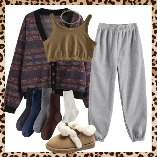 Warm cozy fit casual comfort