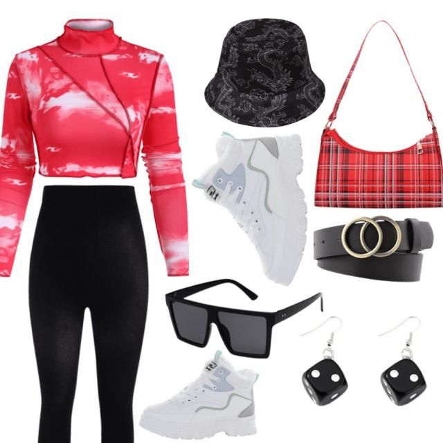 This is the perfect style for a spider woman: Top and leggings are aerodynamic to help with air resistance and still so…