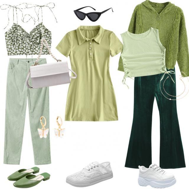 disney princess's outfits: tiana 🐸💚