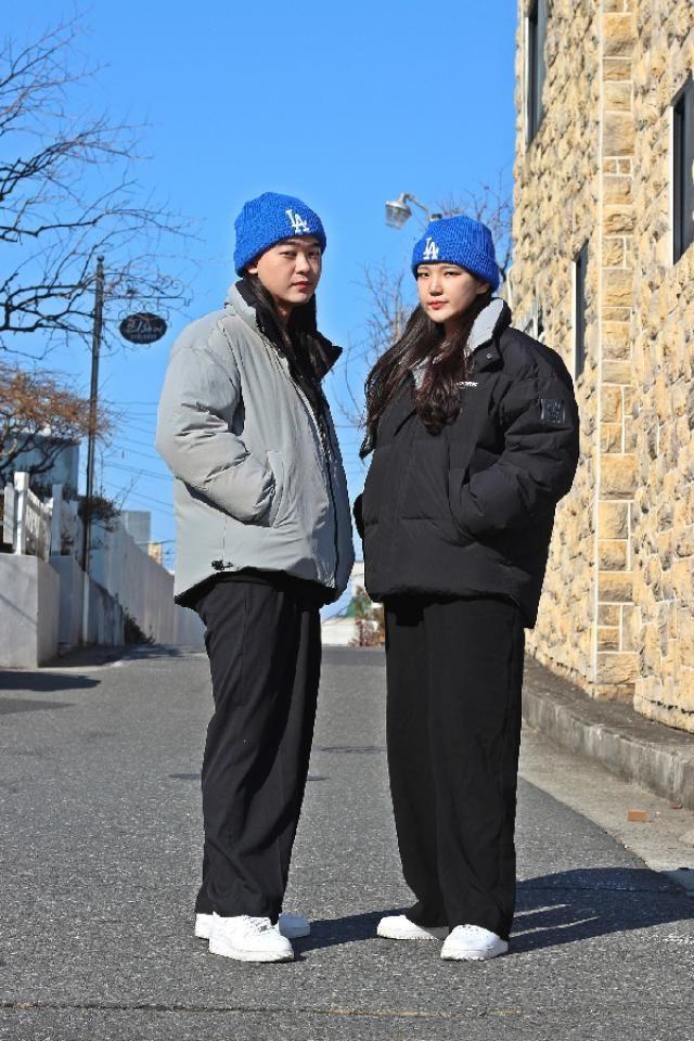 Winter couple style   insta: bb_stg