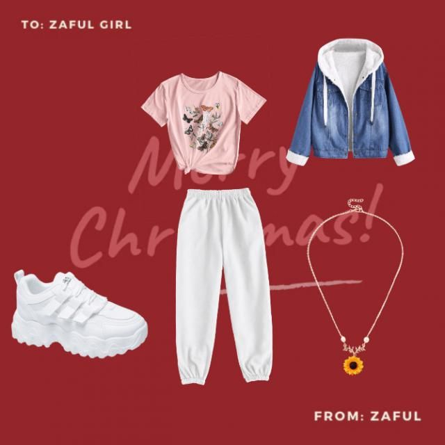 cozy outfit forxmas with the fam
