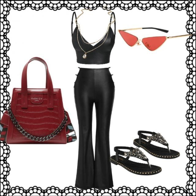this outfit is called summer night in paris and it would be something you would wear on a date.