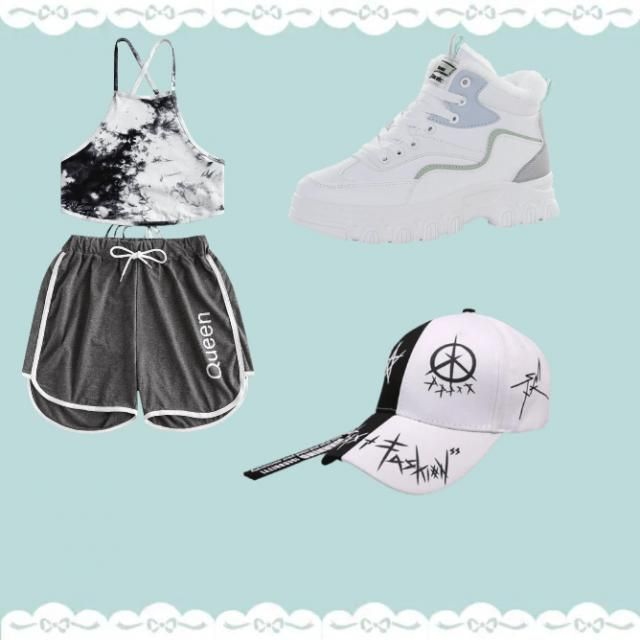 cute outfit very comfortable to do what u want whether its hiking, going to the beach or just sitting at home