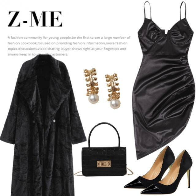 black is everthing/chic and sexy/please like my design