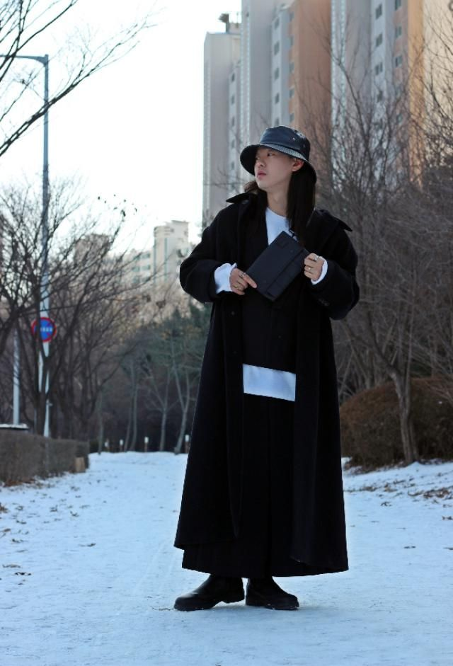 Korea winter fashion  insta: bb_stg