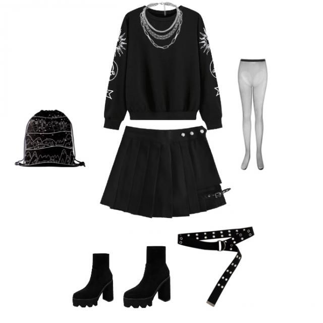 Dark casual gothic