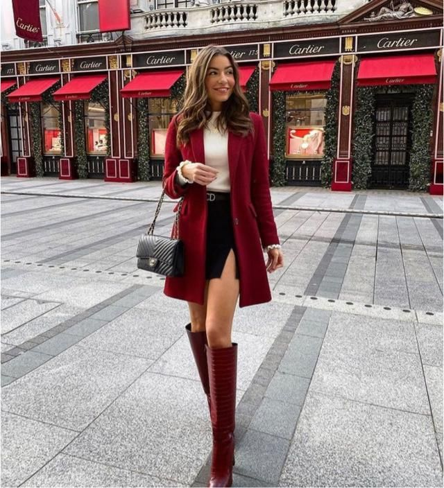 Red coat will make you look fabulous, the brightness is marvellous