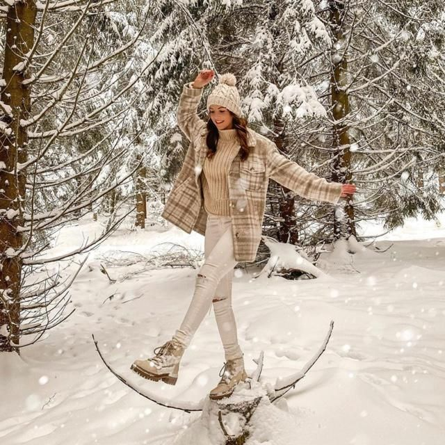 To appreciate the beauty of a snowflake it is necessary to stand out in warm outfits in the cold